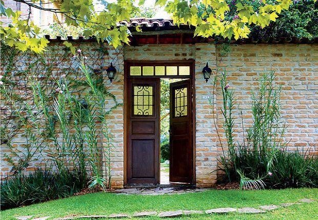 fachadas de casas tijolinho aparente - Pesquisa Google
