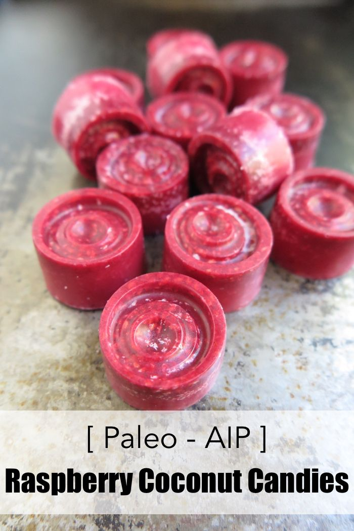 | Raspberry Coconut Candies (Paleo – AIP – Sugar Free – Vegan) | http://asquirrelinthekitchen.com