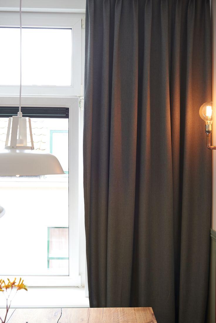 RTLWM Najaar 2015 afl. 4 Lange donkergrijze gordijnen van Veneta http://www.veneta.com/