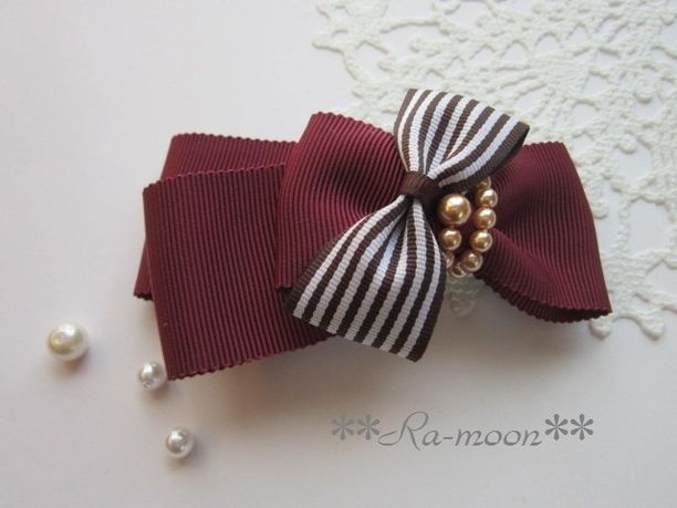 #bow #hair-pin