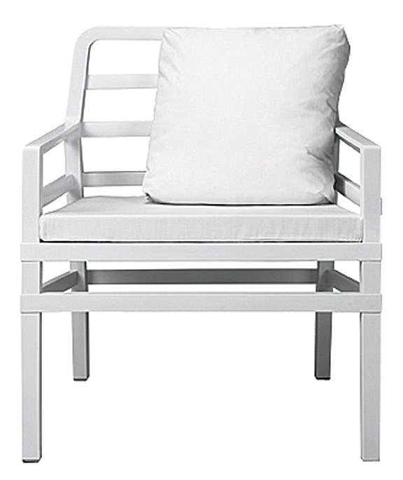 NARDIu0027s Aria Polypropylene Armchair In Bianco Acrilico Bianco Shines White  Hot Indoors Or Out. Nardigarden