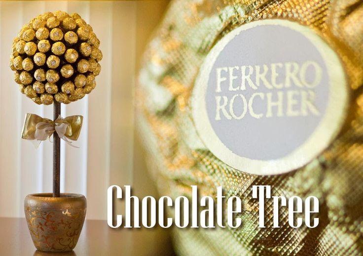 How to Make a Ferrero Rocher Chocolate Tree