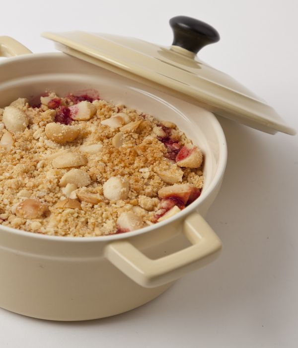 Few things signal autumn so enticingly as an apple and blackberry crumble. Here is the best apple crumble recipe around. Michellin-starred chef Adam Gray plays with this great British tradition by baking the nut-flavoured topping separately for more depth of flavour and extra crunch. It's gratifyingly easy to make, so why wait for a Sunday roast to enjoy it?