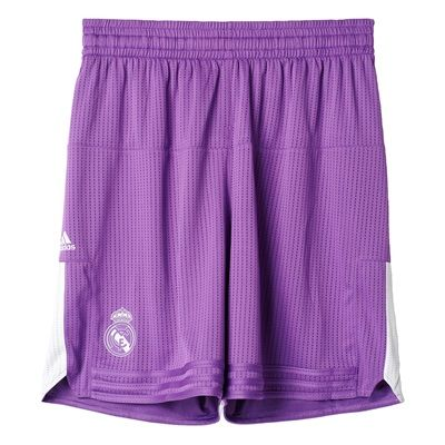 Real Madrid Basketball Away Shorts 2016/17: Real Madrid Basketball Away Shorts 2016/17 #RealMadridShop #RealMadridStore