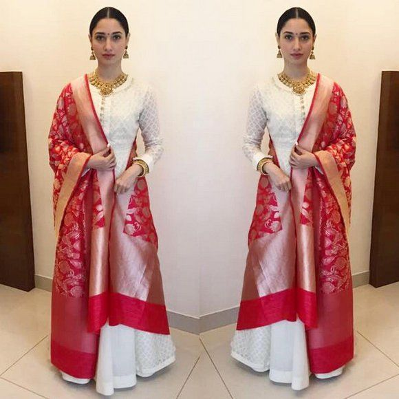 e3efa11fee How To Style Banarasi Dupatta For A Classic Look | Dupttas in 2019 ...