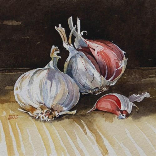 """Garlic 1"" by David Morris"