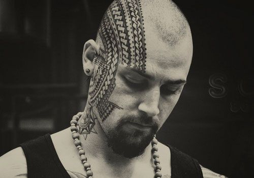 japanese-tattoo ~ http://heledis.com/beautiful-face-tattoo-designs/