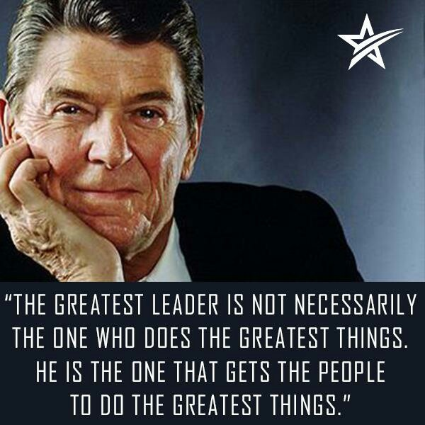 """Amazing Leadership: """"The Greatest Leader Is Not Necessarily The One Who Does"""