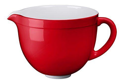 Keramikschüssel für Küchenmaschine Artisan, empire rot, KITCHENAID, 5KSMCB5ER - http://geschirrkaufen.online/kitchenaid/keramikschuessel-fuer-kuechenmaschine-artisan