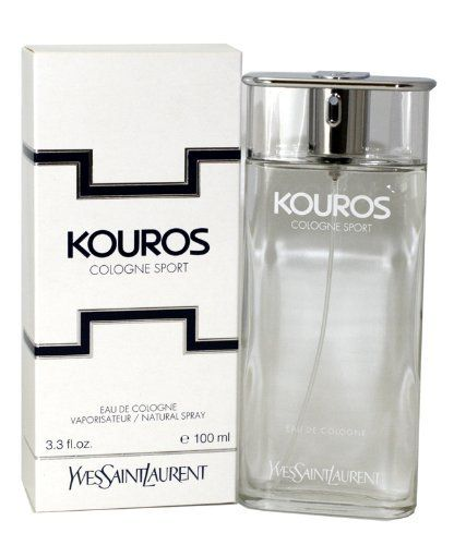 Kouros Sport By Yves Saint Laurent For Men. Eau De Cologne Spray 3.3 Oz. by Yves Saint Laurent. $47.96. This item is not for sale in Catalina Island. Packaging for this product may vary from that shown in the image above. Introduced in the year 2003, by the design house of Yves Saint Laurent. Kouros Sport has a blend of greens, tangerine, bergamot, spices, jasmine, cyclamen , cedarwood and amber.It is recommended fro daytime wear.