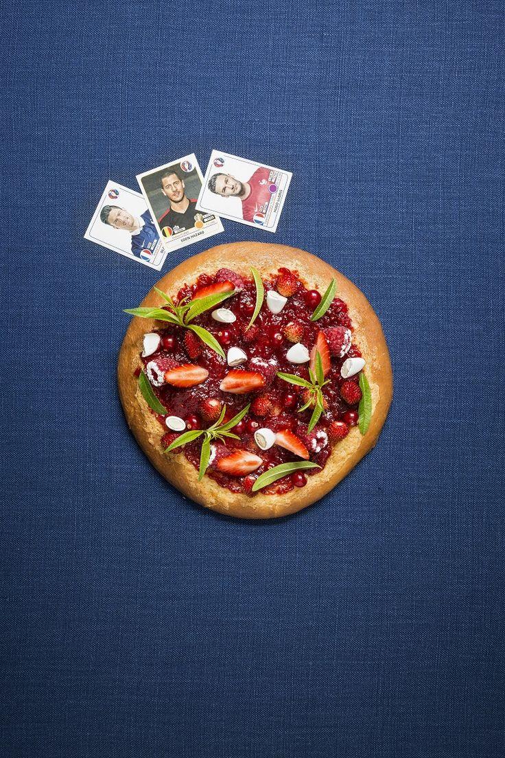 La pizza sucrée de Christophe Michalak