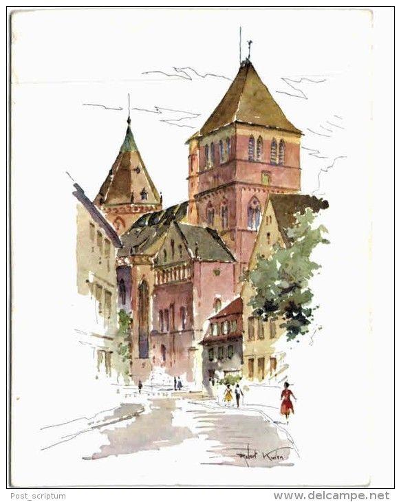 Strasbourg Robert Kuven église saint Thomas