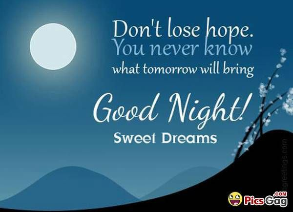 Good Night Quotes, Messages and Night SMS With Good Night Pictures