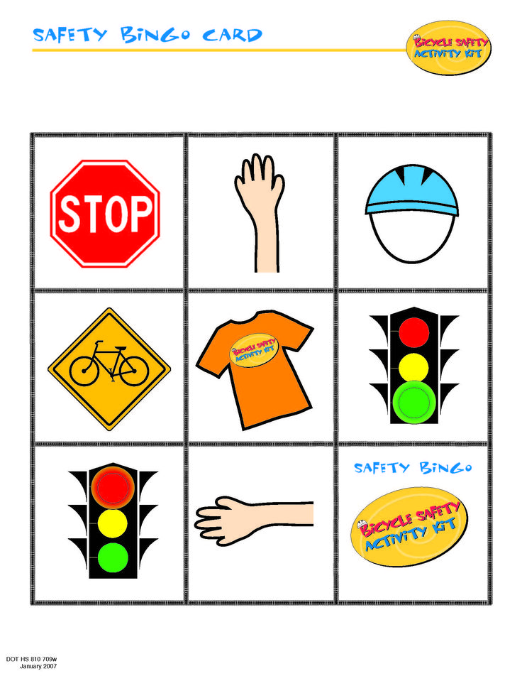 Nhtsa Coloring Pages For Helmets