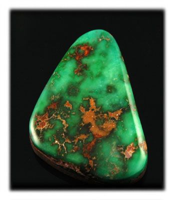 Natural American Turquoise from the Blue Gem Turquoise mine in Nevada - The Hartman collection