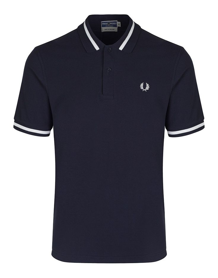 Fred Perry Men's Reissues Single Tipped Polo Shirt - Navy - Men's Polo Shirts / T-Shirts - Men's Designer Shirts / Tops - Men | Country Attire