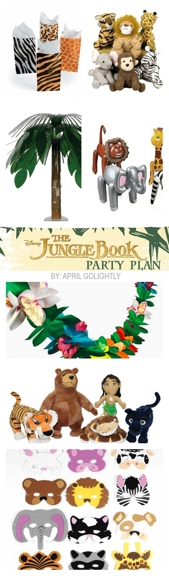 Jungle Book Party Ideas with a complete plan for this Disney Party