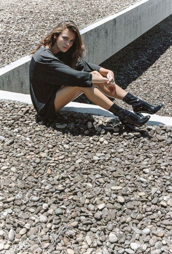 CAMPAIGN // Jena wears 'NAKITA' in Midnight Black Stretch. #tonybianco #campaign http://bit.ly/1p6SXGh