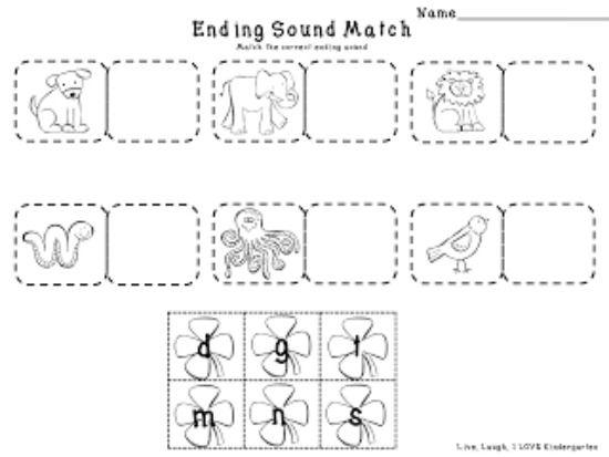 Teach Junkie: 4 St. Patrick's Day Language Arts {Free Download} - Shamrock Ending Sounds