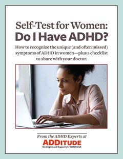 Symptoms of ADHD are often ignored or dismissed in women. This self-test will help you get some answers.