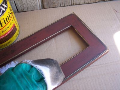 How to Paint a Primitive Frame