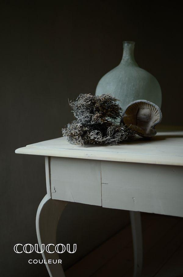 Mit Natürlicher Kreidefarbe Von Coucou Couleur Gestaltet Ihr Euer  Wohnzimmer Rein ökologisch! Hier In GRIS