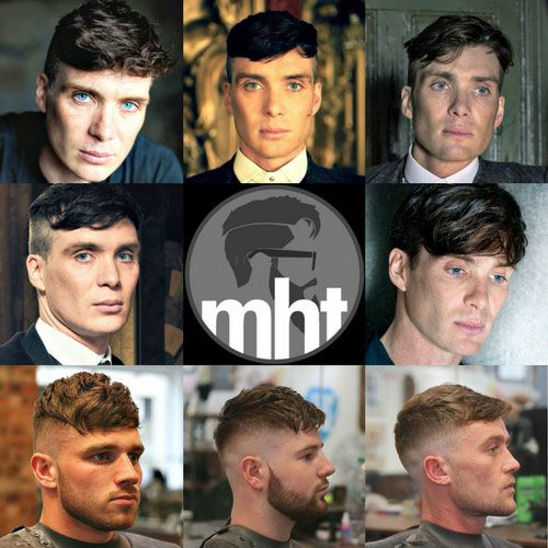 Peaky Blinders Haircut - Cillian Murphy as Thomas Shelby