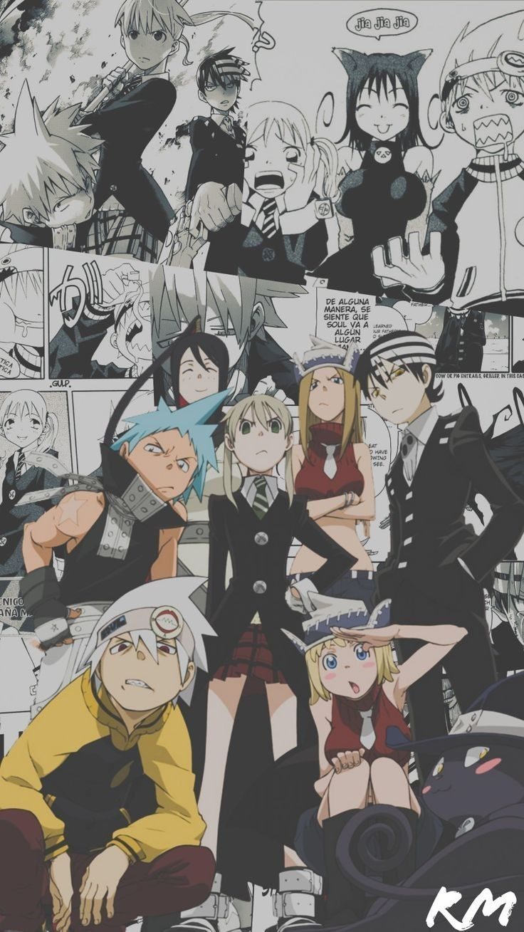 Soul Eater Wallpaper In 2020 Anime Soul Black Star Soul Eater Soul Eater Stein
