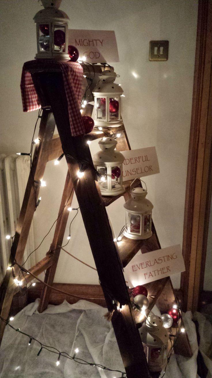 Christmas festival ideas for church - Christmas Church Display Adventflower Festivalworship Ideasreggiochurch Ideas