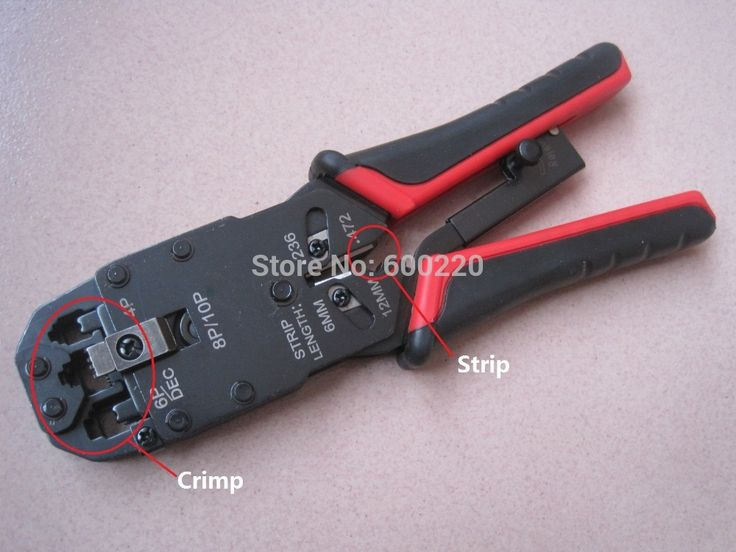 Rj45 Rj11 Rj12 Wire Lan Network Cable Crimping tool Strip Crimp Pc Network Tool 10p/8p/6p/4p