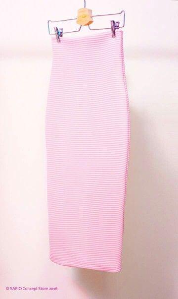 Pencil Skirt Quartz Pink www.sapiostore.ro