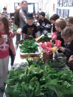 School Garden Farmersu0027 Market @ The Hooker Oak Open Structure School