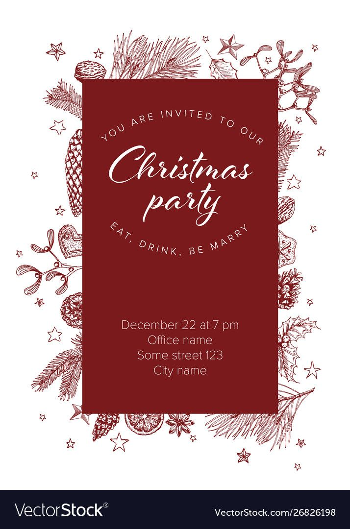 Free Christmas Party Invitation Templates In 2021 Christmas Party Invitation Template Holiday Party Invitation Template Office Party Invitations