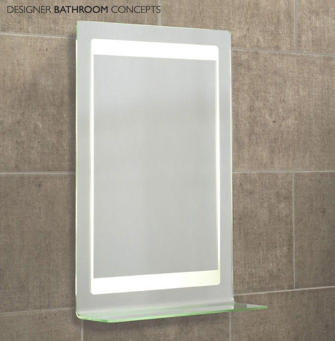 Gamma Designer Illuminated Bathroom Mirror From DesignerBathroomConcepts Roper RhodesBathroom Mirrors