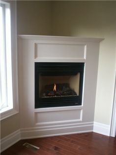small corner fireplace gas | Family room decor on Pinterest | 22 Pins