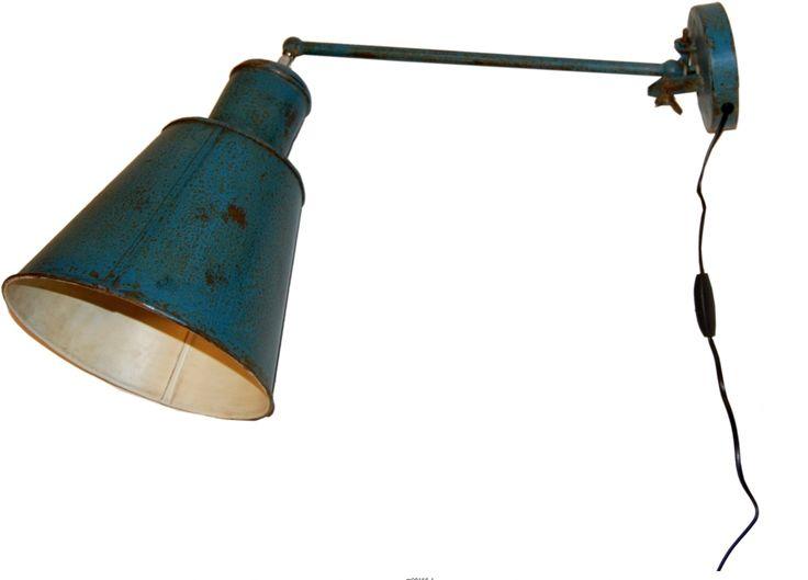 Vägglampa vintage - Industri | Köp lampor och belysning hos Reforma Sthlm.se