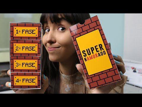 [DIY] Jogo Super Namorado – Para entregar o presente de forma mais criativa! | Namorada Criativa - Por Chaiene Morais