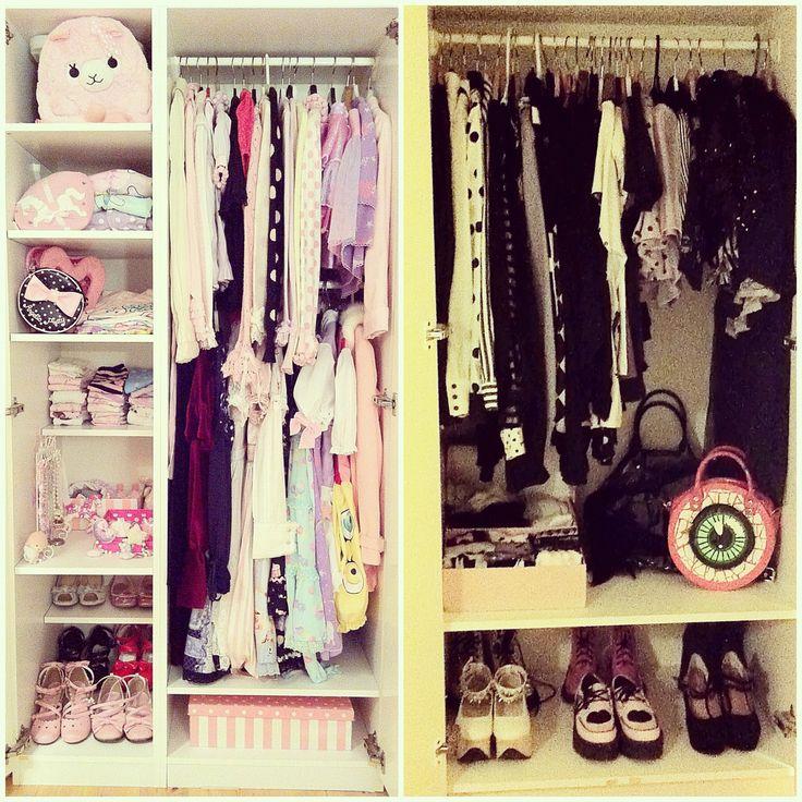 Pastelbat and her closet