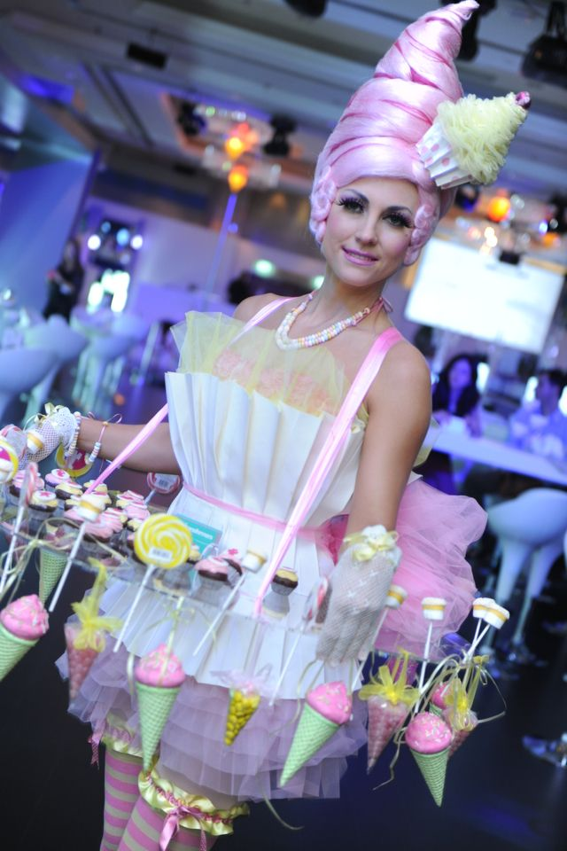 Bolli Darling Cupcake Darling cup cake costume. Courtesy of The Transformers, Dubai.