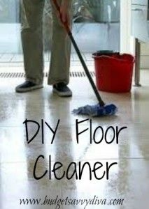 How to Make Your Own Floor Cleaner   Budget Savvy Diva