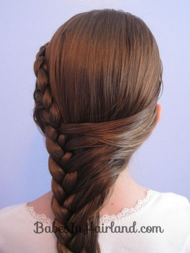 Admirable 1000 Images About Kapsels On Pinterest Fishtail Updo And Braid Short Hairstyles Gunalazisus
