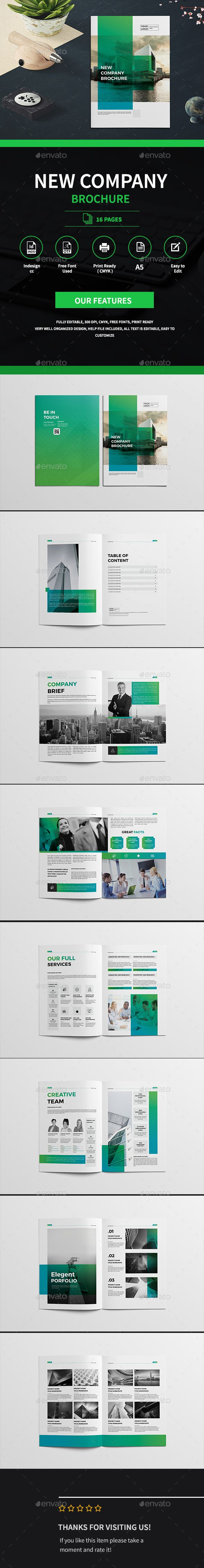 Business Company Brochure — InDesign INDD #clean catalogue #stylish • Download ➝ https://graphicriver.net/item/business-company-brochure/19412404?ref=pxcr