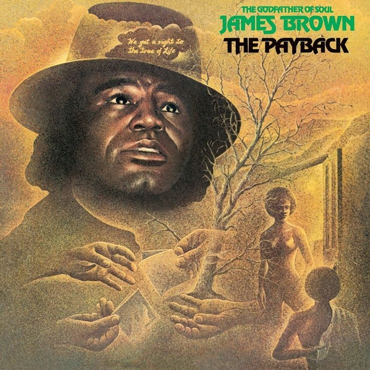 James Brown The Payback on 2LP Originally issued on Polydor Records in 1973, James Brown's sprawling 8-song, 73-minute double album The Packback is one of The Hardest Working Man In Show Business' fin