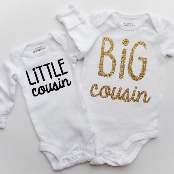 Big Cousin Little Cousin Onesie® / Toddler by WelcometoWonderland