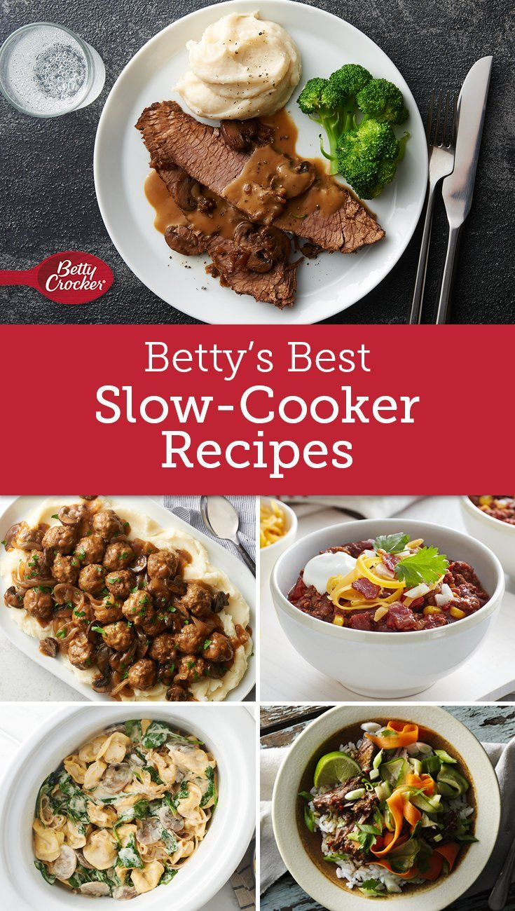 Betty S Best Slow Cooker Recipes Slow Cooker Recipes Cooker Recipes Recipes