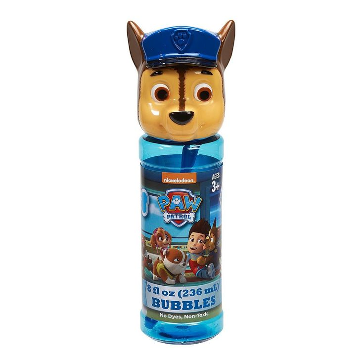 Paw Patrol 4-pk. Chase Bubble Heads Bubble Pack by Little Kids, Blue