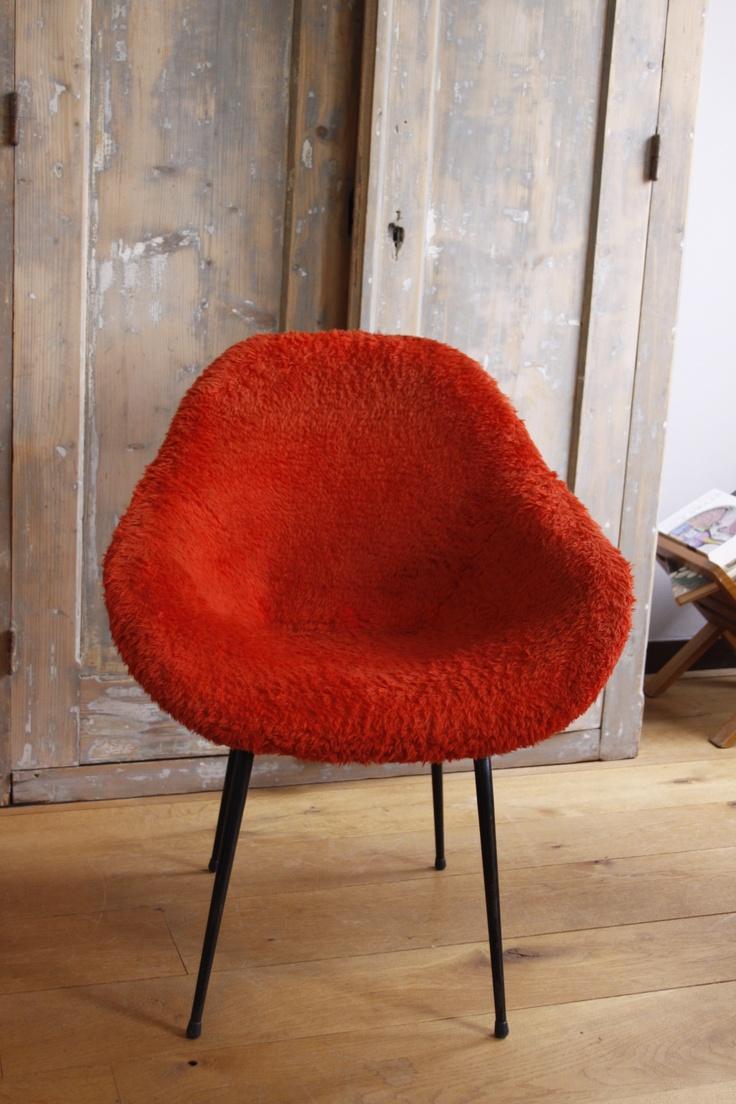 Meer dan 1000 ideeën over oranje stoelen op pinterest   stoelen ...