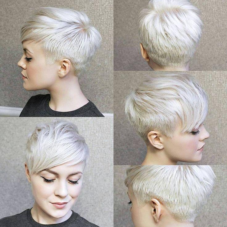 10 Trendigen Pixie Frisuren - Kurze Frisuren für Frauen // #Frauen #Frisuren #für #kurze #Pixie #Trendigen