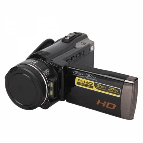 "High-definition Video Camera Features a 1/2.5"" COMOS Sensor, 24 colors(RGB), Digital Video Camera/Digital Camera/Digital Voice Recorder/Molile Disk/PC Camera operation modes and auto exposure."