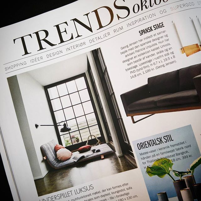 Proud to be part of a new trend #them #bythornam #madogbolig #slowliving #luxery #interiordesign #design #furniture #lounge #madeindenmark #danishdesign